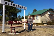 Blackbutt - Old railway station (Qld)