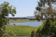 Our campsite - Carcoar Lake (NSW)