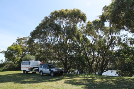 Marlo - Free Camp beside the Snowy River (Vic)
