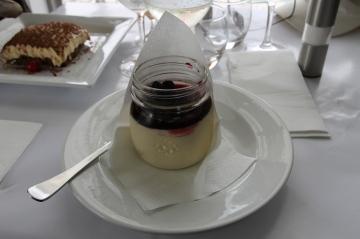 Wildfish Restaurant - Berry Panna Cotta (Vic)
