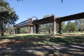 Old Rail Bridge (Dubbo NSW)