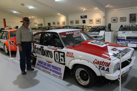 Peter Brock's Racing Car (Mount Panorama NSW)