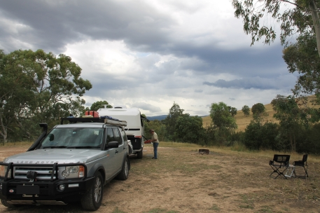 Brookes Cutting Reserve - Campsite (Vic)