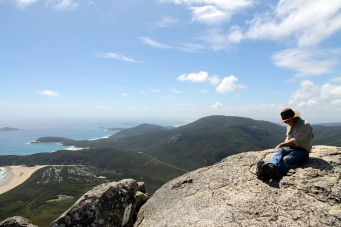 Mt Oberon - We made it! (Vic)