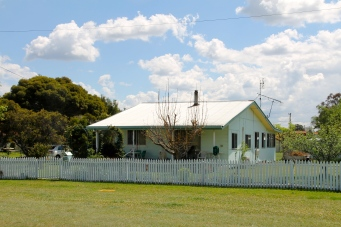 Wallangarra - Pete's parents first home (QLD)