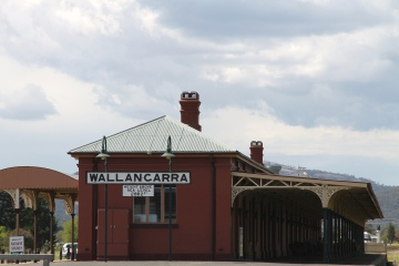 Wallangarra - Old Railway Station (QLD)