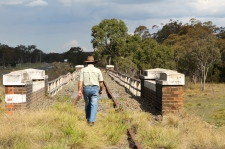 Tenterfield Creek - Old Rail Bridge (NSW)