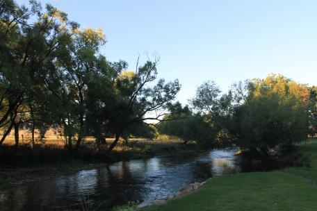 Corryong - Corryong Creek, Colac Colac Caravan Park (Vic)