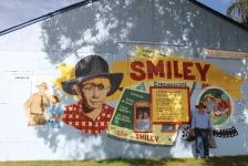 Augathella - 'Smiley' Mural (Qld)