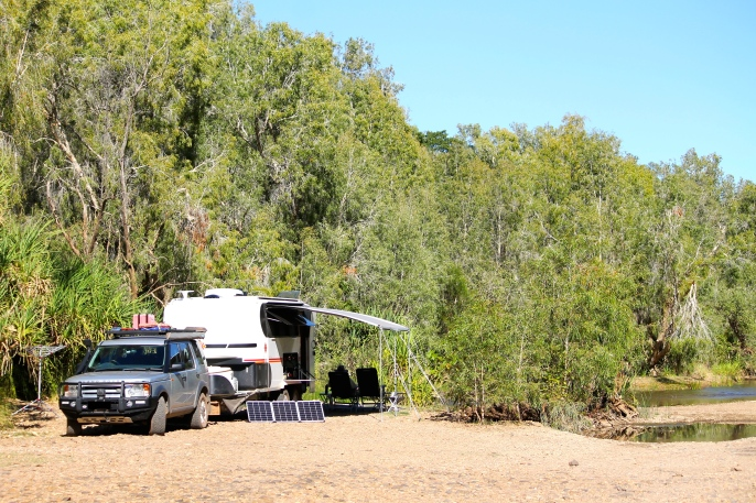 Gregory River - Campsite (Qld)