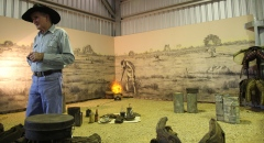 Camooweal - Tom Green at Drovers Camp Museum (Qld)