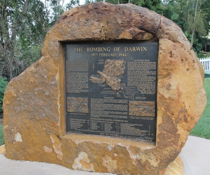 Darwin - The Bombing Of Darwin Memorial (NT)