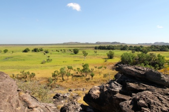Ubirr - Views of the Nadab Floodplain - Kakadu (NT)