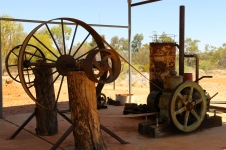 Arltunga Visitor Centre - Outside Display (NT)