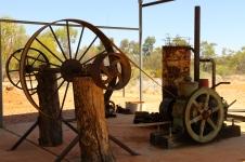 Arltunga Visitor Centre - Outside Display (NT)