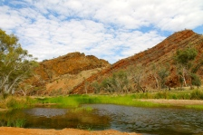 Binns Track To N'Dhala Gorge - Second Crossing (NT)