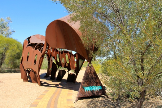 Araluen Precinct - Sculpture (NT)
