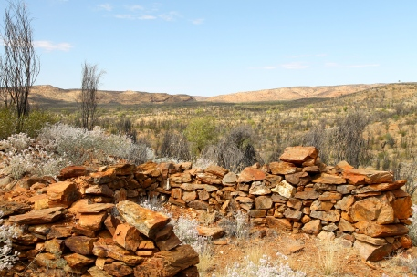 Arltunga Historical Reserve - MacDonnell Range Reef Mine - House Remains (NT)