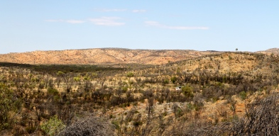 Arltunga Historical Reserve - MacDonnell Range Reef Mine - View From The Top (NT)