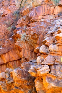 Colours of Serpentine Gorge (NT)