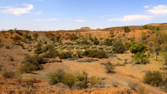 Henbury Meteorite Craters (NT)