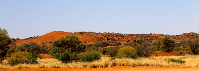 Road To Kulgera Roadhouse (NT)