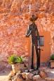 Coober Pedy - Miner Statue (SA)
