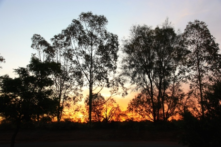 Bourke - Sunset (NSW)