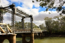 Tooleybuc - Historic Bridge Crossing The Murray (NSW)