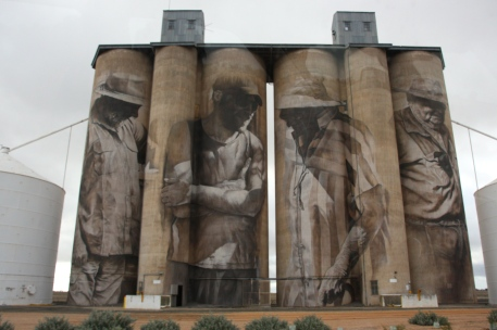 Brim - Wheat Silos (Vic)