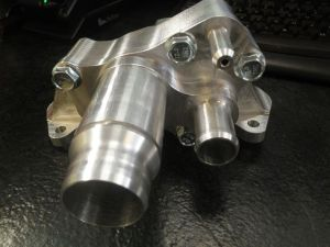 Billet Cooling Crossover Pipe