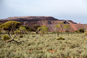 Iron Knob - Iron Monarch Mine - Stopover On our Way To Kimba (SA)
