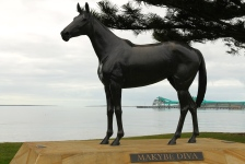 Port Lincoln - 'Makybe Diva' Statue On The Foreshore (SA)