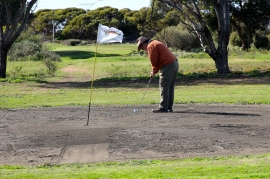 Ceduna - Nullabor Links Golf Course - First Two Holes (SA)