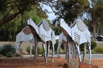 "Norseman - ""Tin Camels"" Sculptures (WA)"