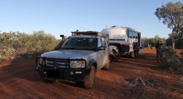 Mandora Station - Bush Campsite (WA)