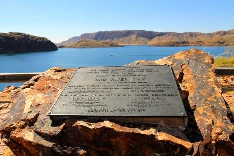 Lake Argyle - Dam (WA)