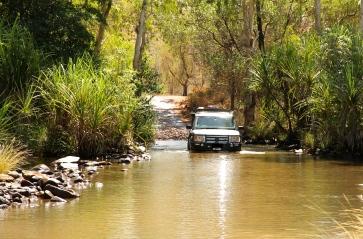 El Questro Station - Crossing The Pentecost River (WA)