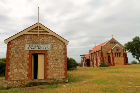 Central Greenough Historic Settlement - Greenough Road Board Office and St Catherine's Church (WA)