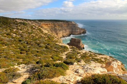 Kalbarri National Park - Coastal Cliffs - Island Rock (WA)
