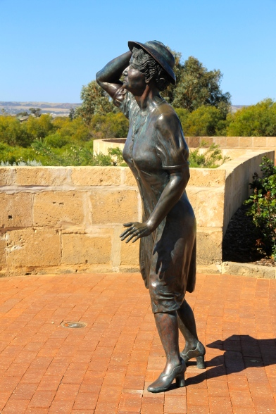 "Geraldton - HMAS Sydney II Memorial - ""The Waiting Woman"" (WA)"