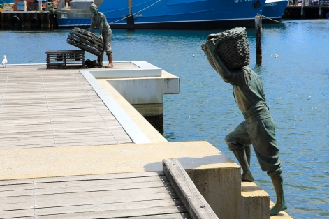 Fremantle Art Trail - Fisherman's Memorial (WA)