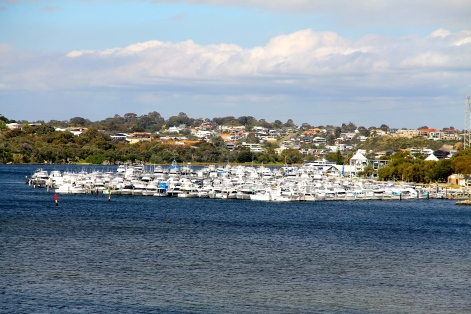 North Fremantle - Swan Yacht Club and Beyond To Mosman Park (WA)