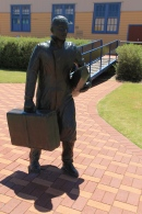 Fremantle Port Sculpture - Immigrant Arrivals (WA)
