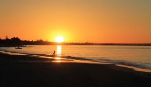 Busselton - Sunset Over Geographe Bay (WA)