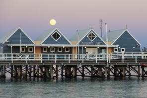 Busselton - Super Moon Over The Jetty (WA)
