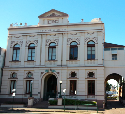 Maryborough - School Of Arts Building (Qld)