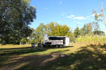 Childers - Brierley Winery Campsite (Qld)