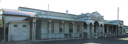 Mount Morgan - Railway Station and Museum (Qld)
