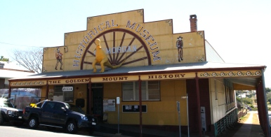Mount Morgan - Historical Museum Was Originally One Of The Gold Mine Buildings (Qld)